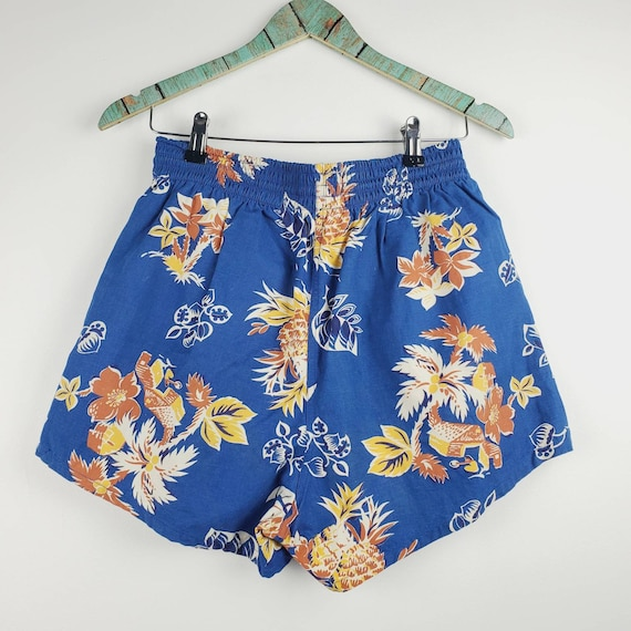 1960s Handmade Men's Hawaiian Swim Trunks