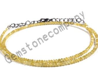 Rough Diamonds ON SALE 50/% Black Raw Diamond Rondelle Uncut Diamonds 8 Inch Strand Bead Size 1.5mm to 3mm Natural Rondelles