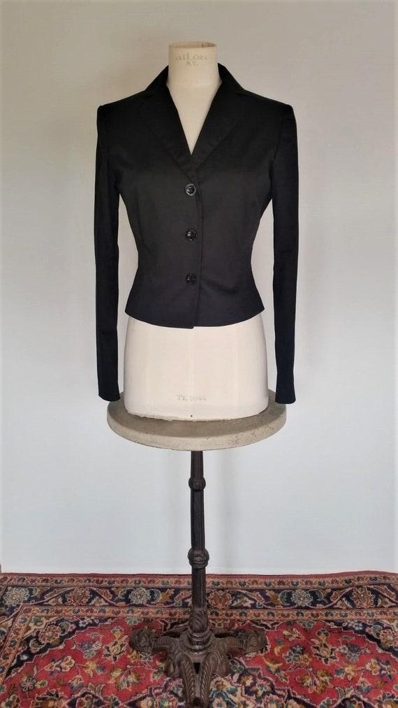 Vintage Moschino women's blazer   back bow blazer