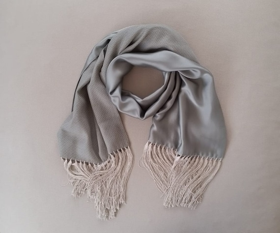 Armani men's vintage silk opera scarf | Italian si