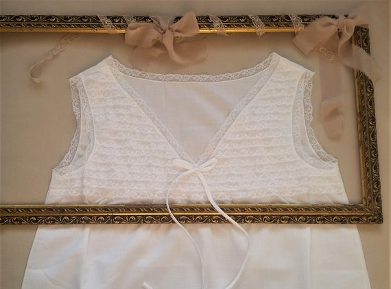 1960's vintage French lace lingerie set | Dentelle