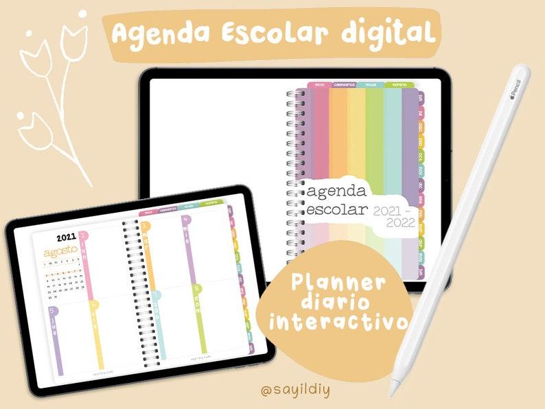 Agenda Escolar 2021-2022 Digital Fechada image 0