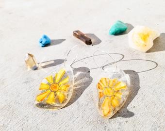mushroom keychain crystal keychain bridesmaid gift mindfulness gift popular right now Boho keychain resin art cute school supplies