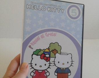 "HELLO KITTY DVD ""Hansel and Gretel"", Sanrio 1976-2010."