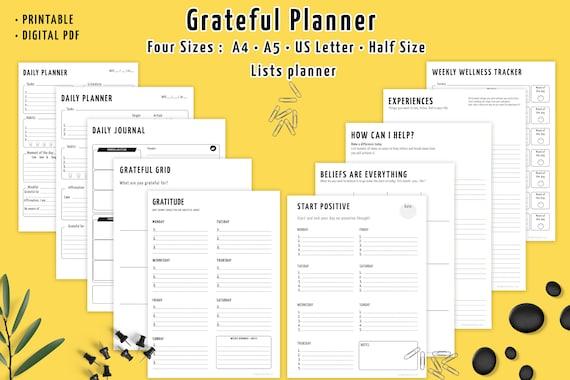 grateful diary journal gratitude quotes mindful