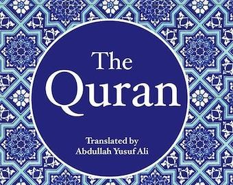 The Holy Quran (Abdullah Yusuf Ali) medium size