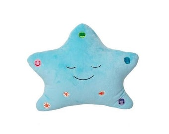 My Dua' Pillow With Light & Sound For Our Little Muslim Children - Blue