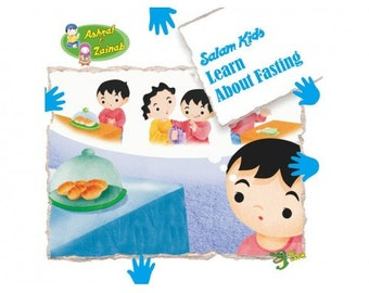 Learn About Fasting - Salam Kids Series -  Islamic Storybook Series for Muslim Children Kids - Educational Gifts