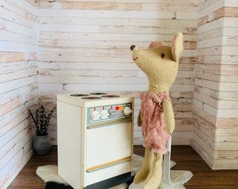 Dollhouse Furniture Stove Oven, Kitchen,  Vintage, Bodo Hennig