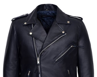d8516548d Brando biker jacket   Etsy
