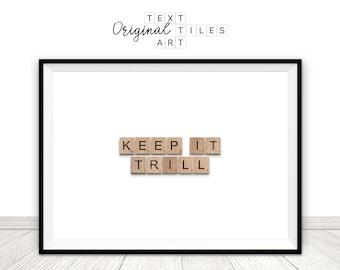 Trill art | Etsy