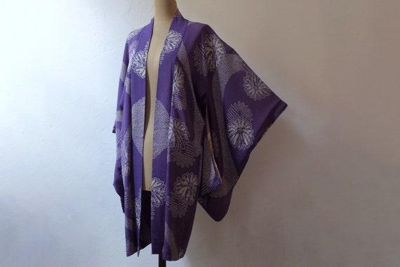 kimono, haori, vintage Japanese kimono jacket, wom