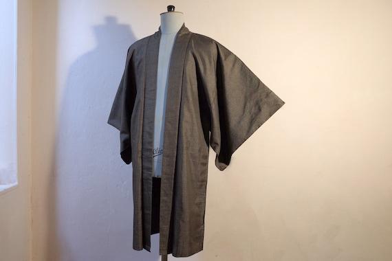 kimono, haori, vintage Japanese silk kimono jacke… - image 3