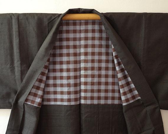kimono, haori, vintage Japanese kimono jacket, men