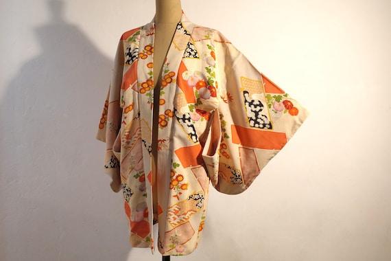 Haori Vintage kimono jacket Japanese Kimono 4488
