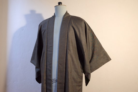 kimono, haori, vintage Japanese silk kimono jacke… - image 7