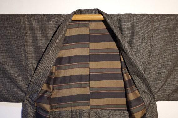 kimono, haori, vintage Japanese silk kimono jacke… - image 2