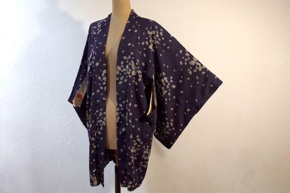 kimono, haori, vintage Japanese kimono jacket, wo… - image 1