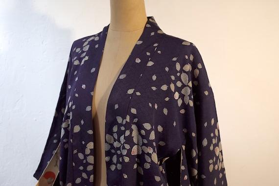 kimono, haori, vintage Japanese kimono jacket, wo… - image 4