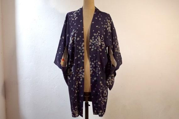 kimono, haori, vintage Japanese kimono jacket, wo… - image 2