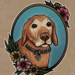 Custom Illustrated Pet Portraits - DOGS