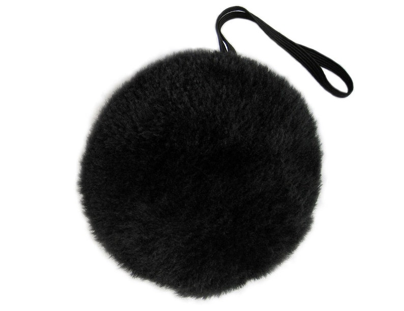 Cute Adult Child Kids Halloween Black Plush Bunny Tail Cosplay Photo Prop Easter Bear Bunny Rabbit Costume Party Dress Up Pretend Play