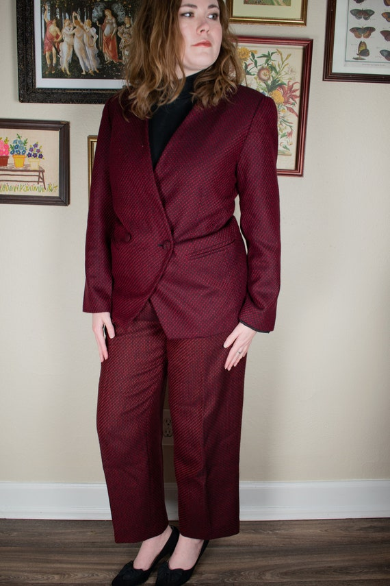 1990s Three Piece Wool Suit Set