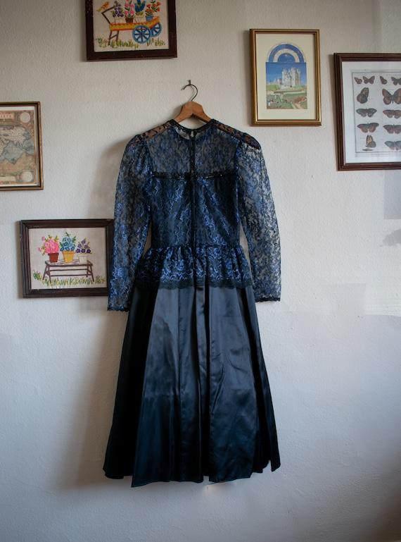 1990s Gunne Sax Formal Dress - image 4