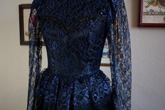 1990s Gunne Sax Formal Dress - image 3