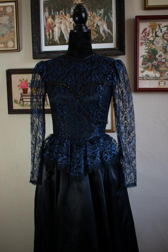 1990s Gunne Sax Formal Dress - image 2