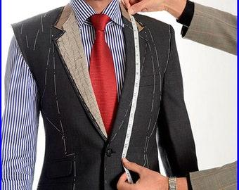Custom Made to  Measure Hand Tailored Bespoke Suit