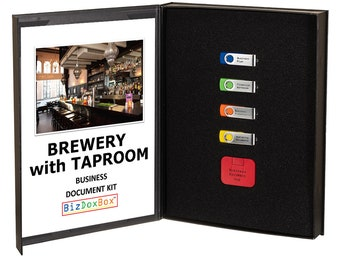 Brewery with Taproom Business Plan Template Package