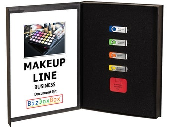 Makeup Line Business Plan and Operating Document Kit