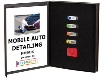 Mobile Auto Car Detailing Business Plan Template Package