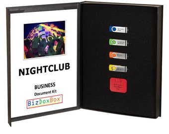 Nightclub Business Plan and Operating Document Kit