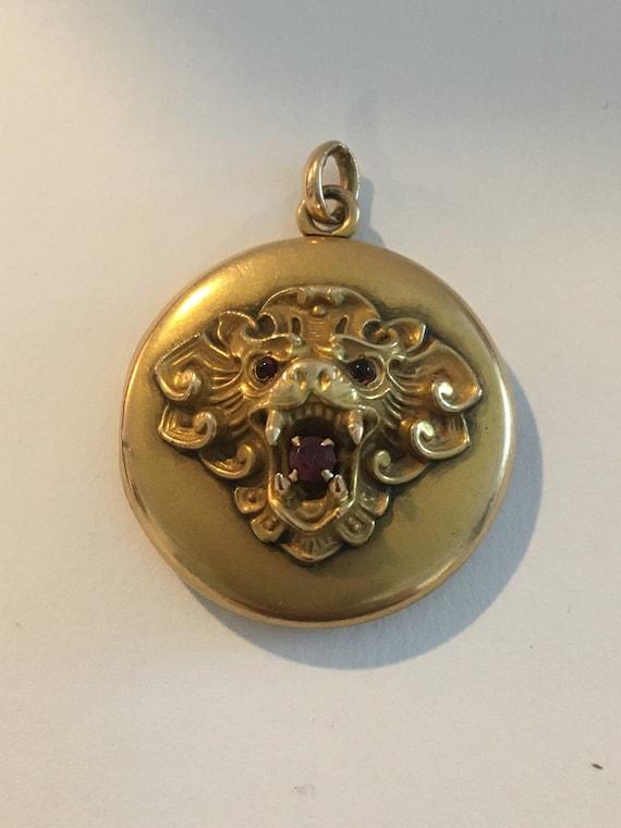 1920's gold filled locket