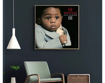 """Lil Wayne Weezy poster wall art home decoration photo print 24/"""" x 24/"""""""