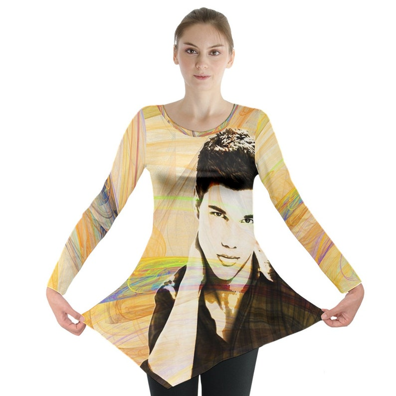 Taylor Lautner Jacob Black The Twilight Saga Long Sleeve Tunic