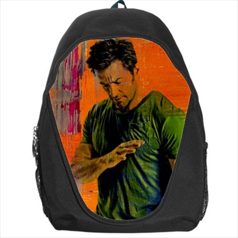 Hugh Jackman x-man Wolverine The Boy from Oz Sexiest Man Alive Backpack Bag