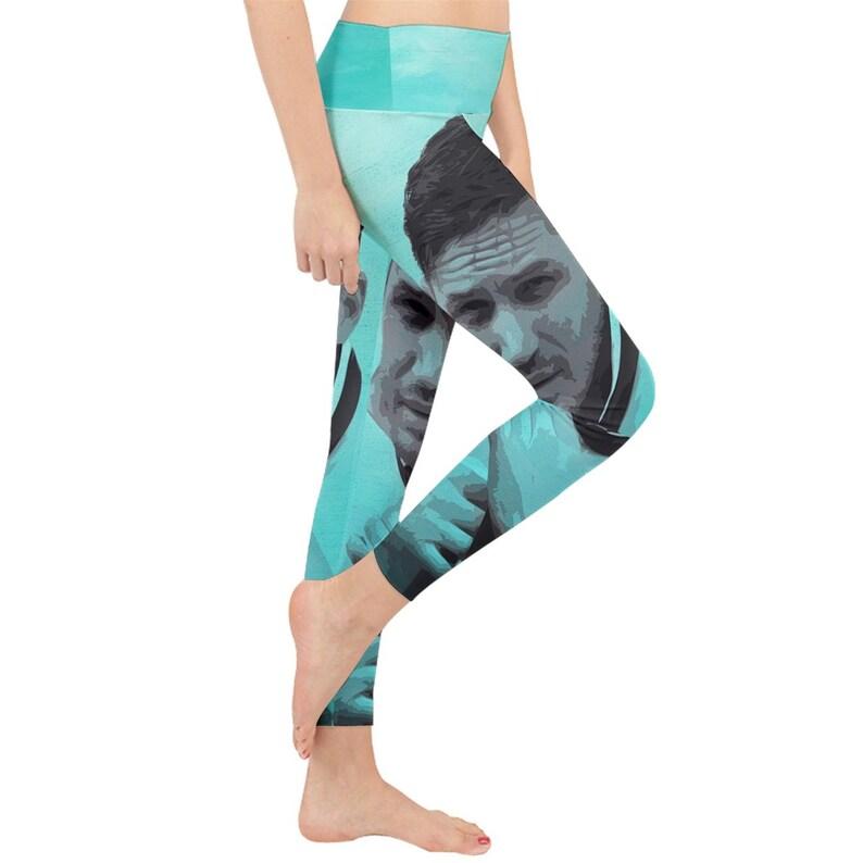 Tom Hardy Black Hawk Down Star Trek Nemesis Star Wars The Last Jedi venom Mad Max Fury Road Lightweight Velour Classic Yoga Leggings