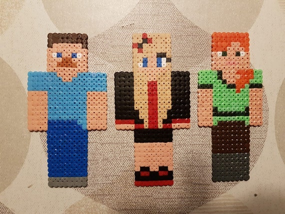 Minecraft Skins Perler Beads Own Skin Available