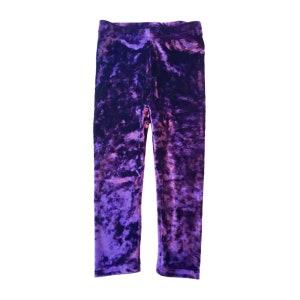 1980s Purple Leggings \u2013 80s Violet Shiny Skinny High Waisted Grunge 70s Disco Pants Madonna Boho Spandex Leggings Size S M