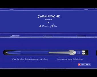 Caran d Ache Ballpoint Pen 849 - Limited Edition Klein Blue