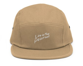Talking Luft Five Panel Cycling Cap Life in the Peloton