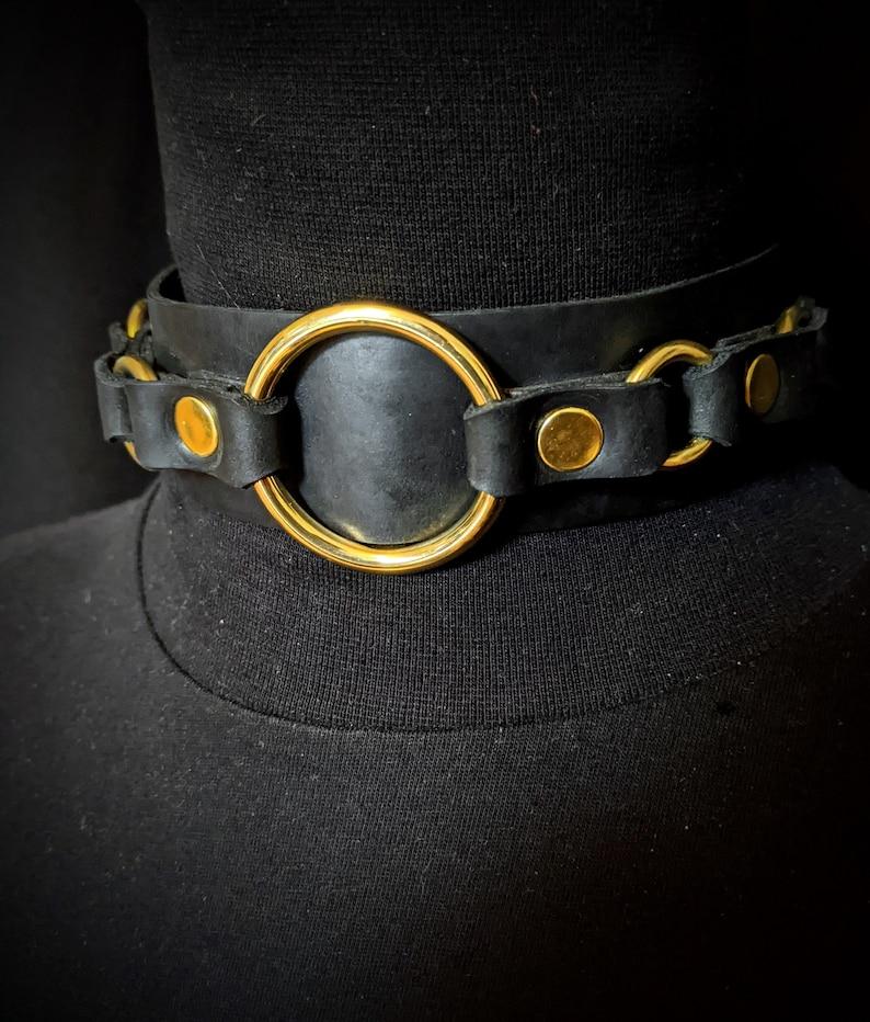 Leash Unique Luxury Gift Box Collar Set Slapper and Antique Wooden Box Lockable Black Leather Collar