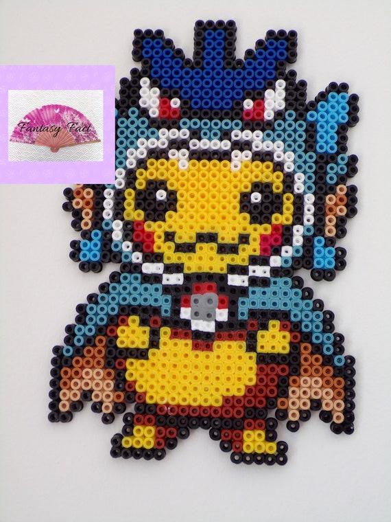 Pokemon Pikachu En Perle Hama