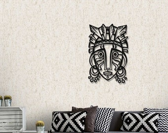 wall art decor for living room.htm african mask metal wall decor metal wall art wall decor etsy  african mask metal wall decor metal