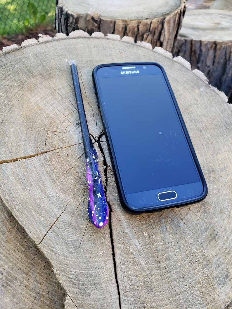 Compatible with all smartphones, including iPhones! Hand-made 6 Stylus Wand Hitchhiker/'s Guide
