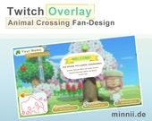 ANIMAL CROSSING - Twitch Stream Overlay