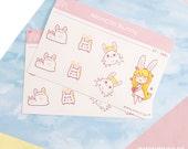 Monchii Bunny Sticker Set 1